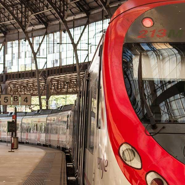 Сантс железнодорожный вокзал