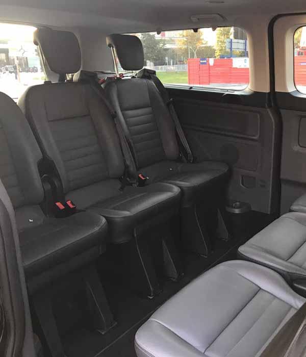 Minivan barcelona 7 plazas