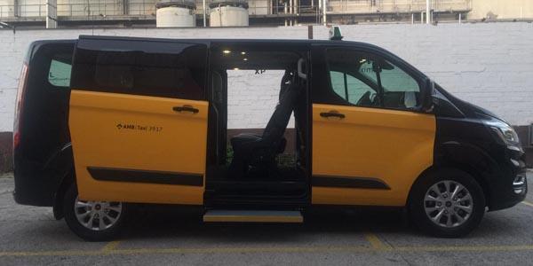 Taxi 6 plazas barcelona