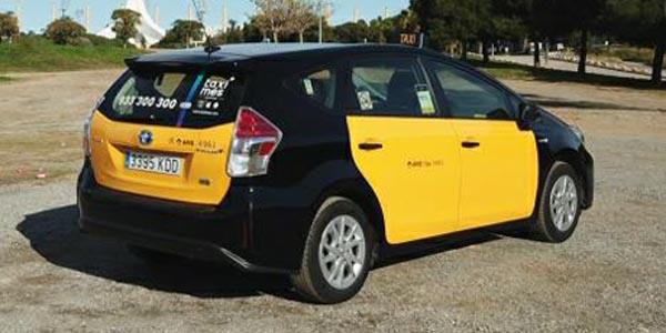 Taxi ecologico barcelona