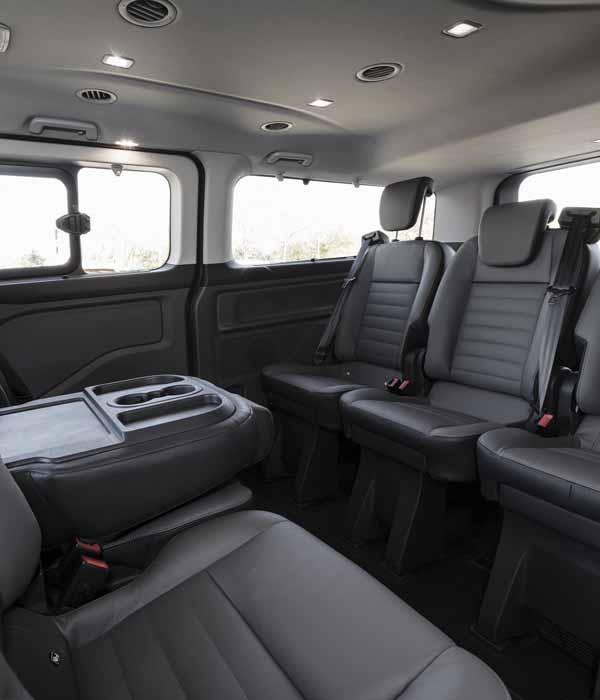 Minivan Barcelona 8 seater